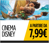 Cinema Disney da 7.99€
