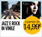 Jazz e rock in vinile da 14.99€