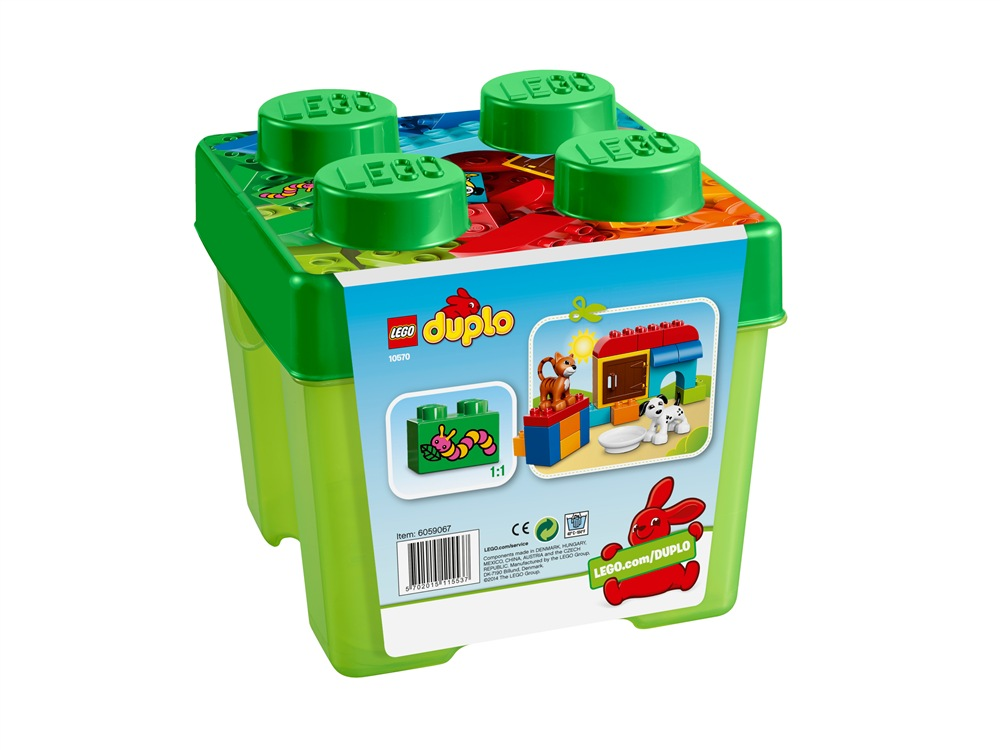 Lego duplo creative play 10570 set regalo lafeltrinelli for Tutto in regalo