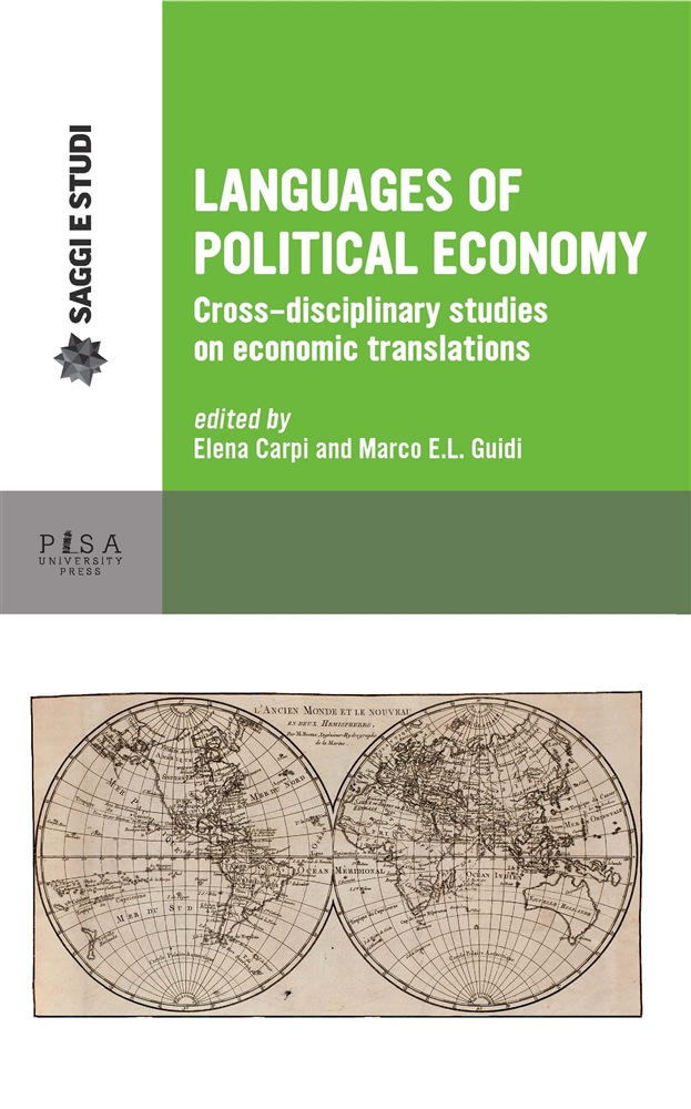 in linea Languages of political economy. Cross-disciplinary studies on economic translations pdf
