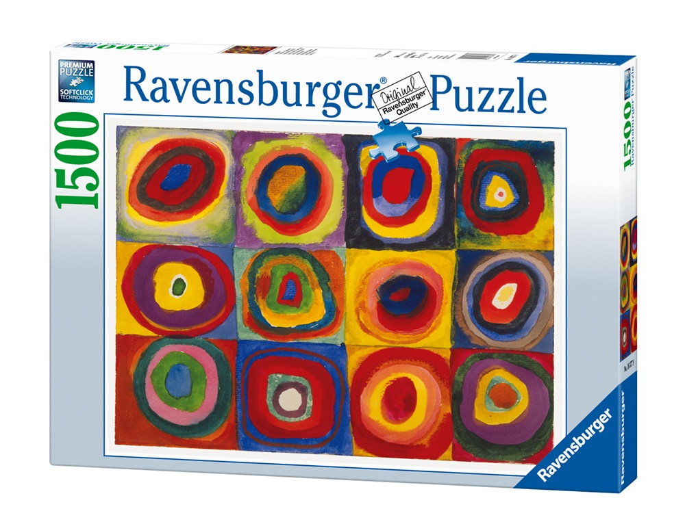 Ravensburger 16377 kandinsky studio sul colore for Puzzle kandinsky