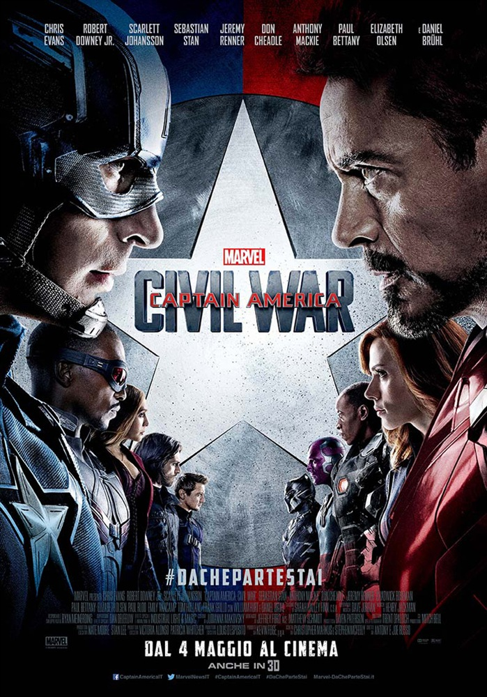 Film Captain America Civil War Dvd Film Lafeltrinelli