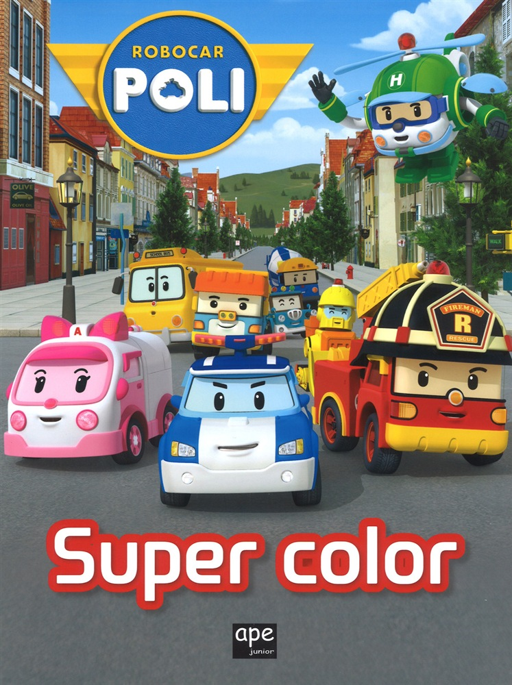 Libro Super Color Robocar Poli Ape Junior Lafeltrinelli