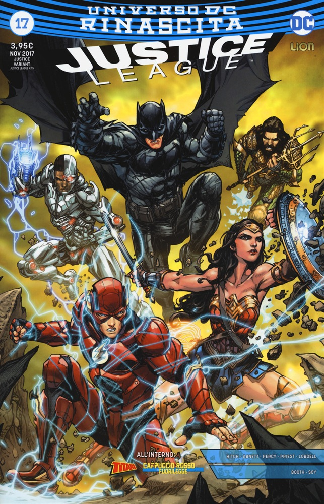 scaricare in linea Rinascita. Justice League. Variant. Vol. 17 pdf