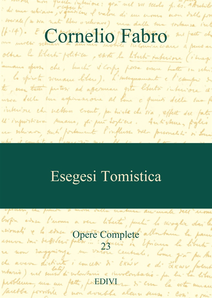 Esegesi tomistica PDF Download Gratuito