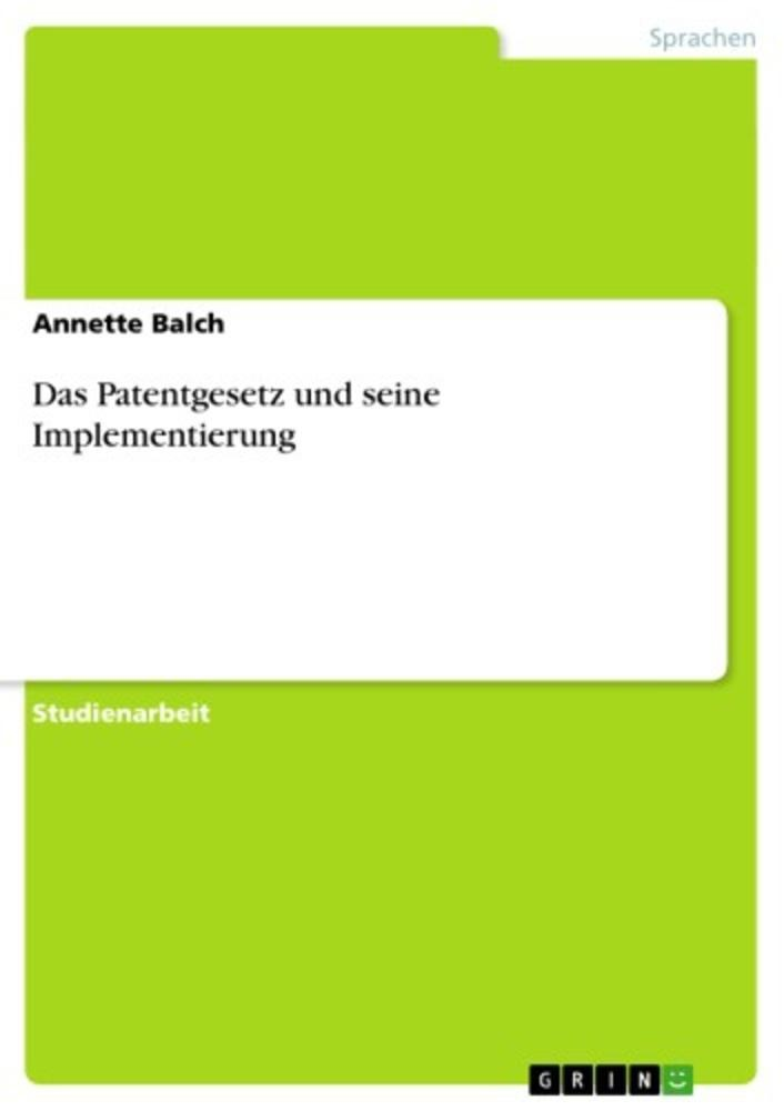 ebook Patentmanagement, Technologieverwertung und