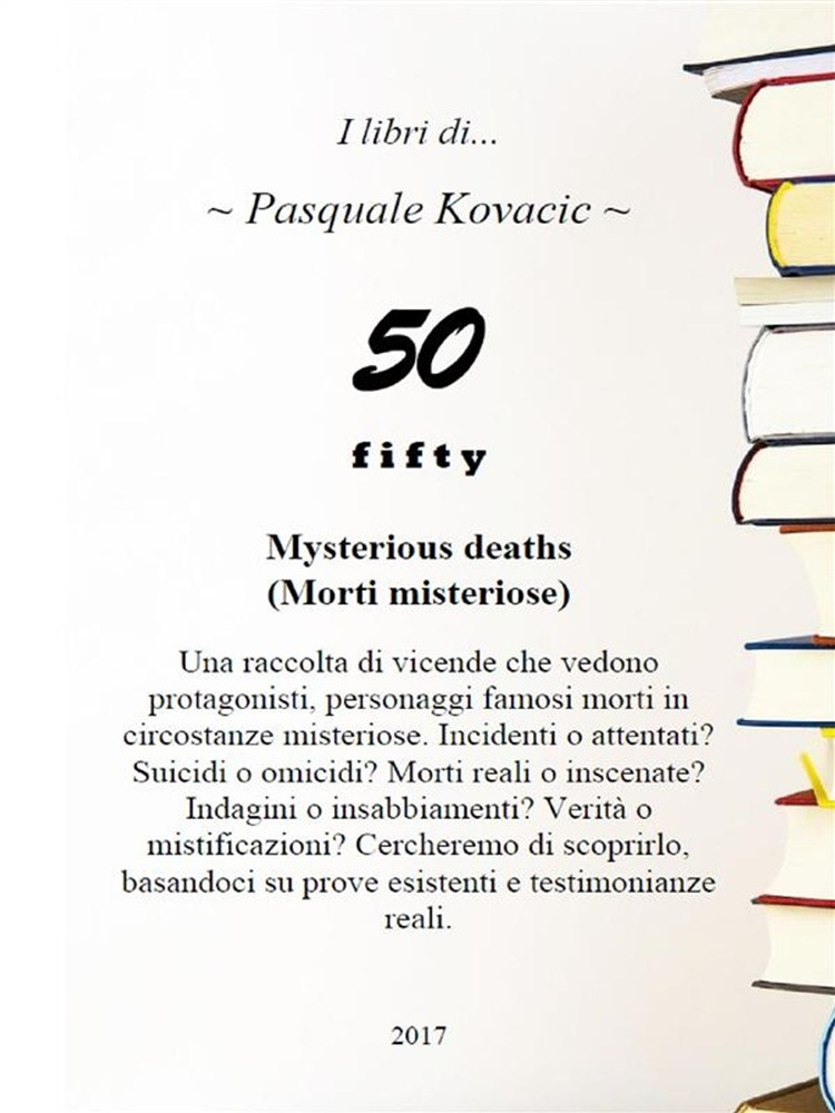 in linea Fifty Mysterious deaths pdf