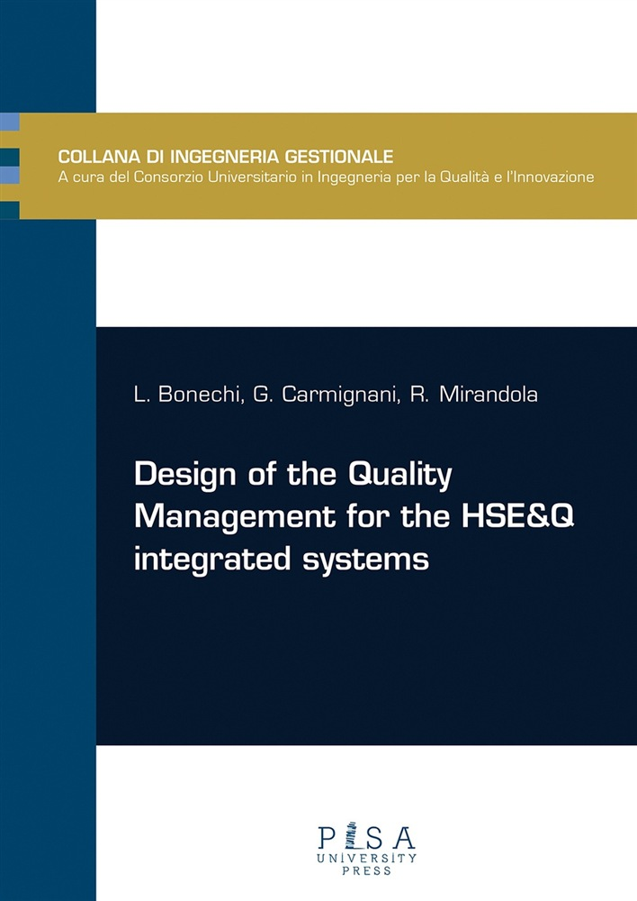 scarica o leggi Design of the quality management for the HSE&Q integrated systems pdf, epub ebook