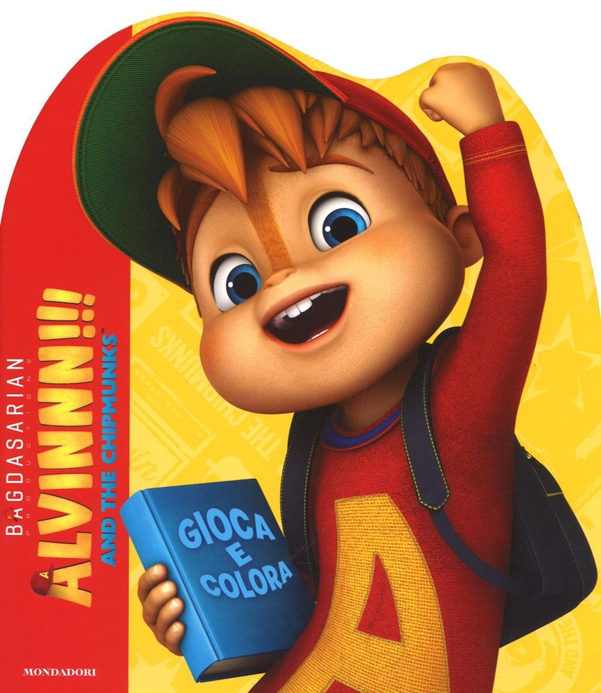 Libro Alvin The Chipmunks Activity Sticker Mondadori