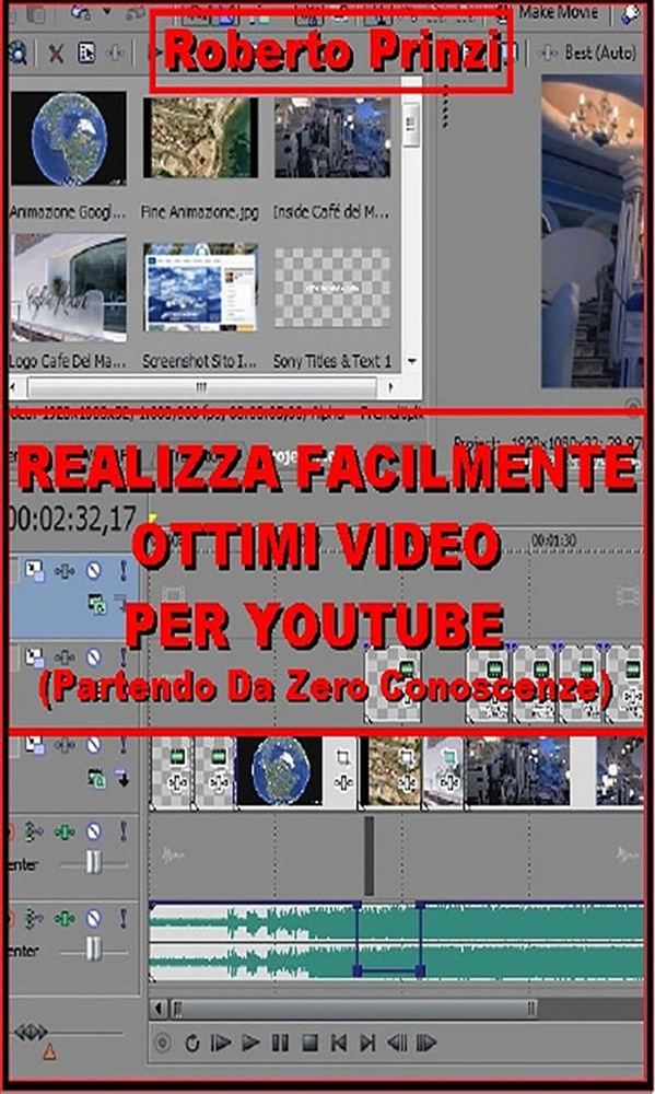 scaricare in linea Realizza facilmente ottimi video per Youtube pdf, epub