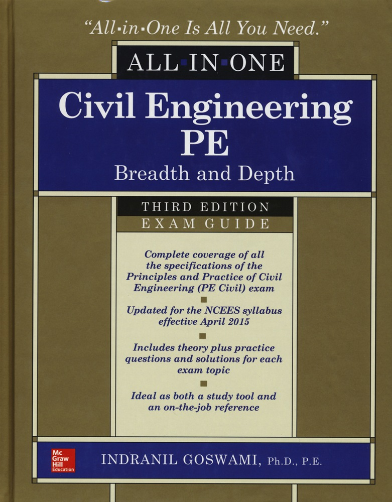 scarica o leggi Civil engineering all-in-one PE exam guide: breadth and depth pdf ebook