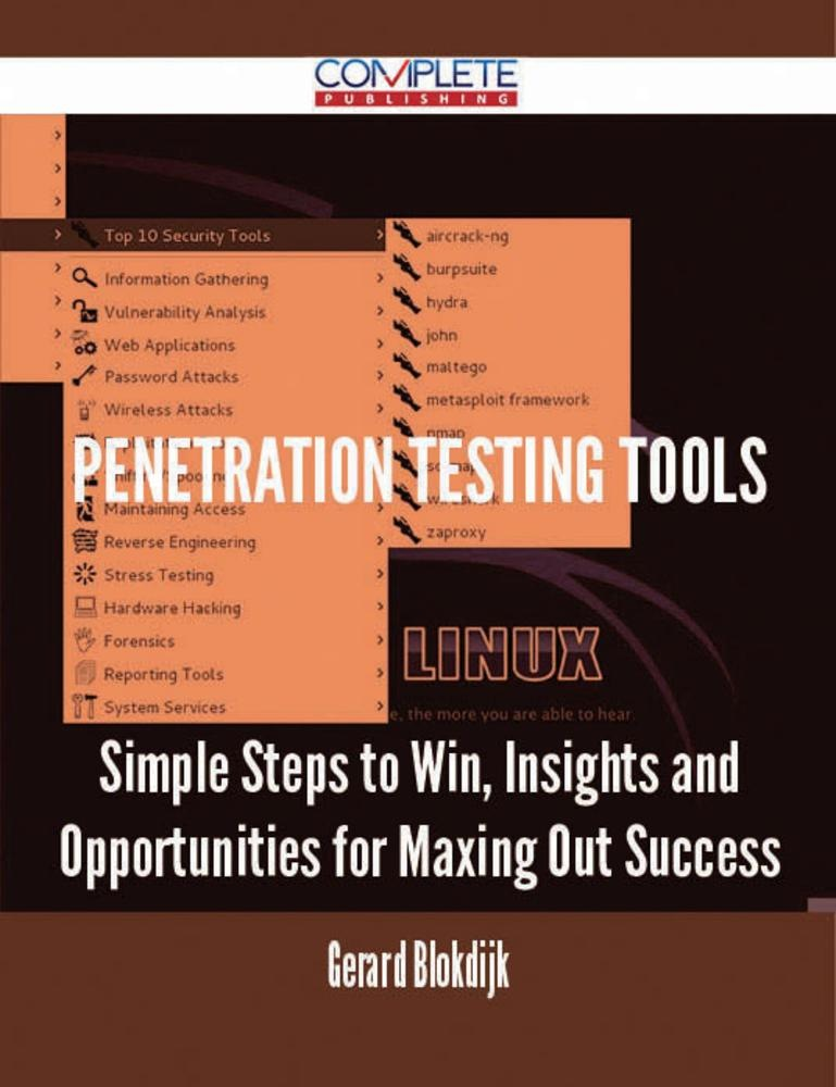 penetration testing tools and techniques