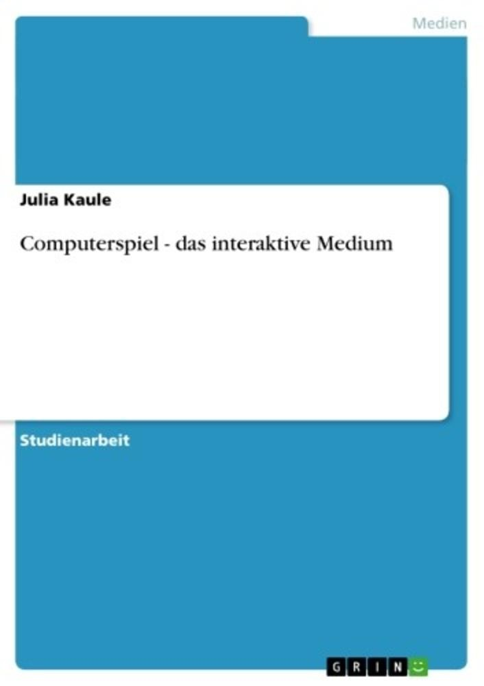 [AudioLibri] Computerspiel - das interaktive medium Audiolibri Italiano