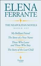 The Neapolitan Novels by Elena Ferrante Boxed Set