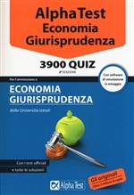 Alpha Test. Economia 3900 quiz. Con software di simulazione