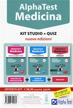 Alpha Test. Medicina kit studio. Con quiz
