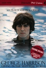 George Harrison. Living in the material world. DVD. Con libro