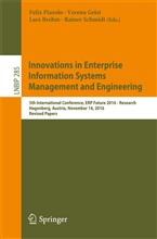 Innovations in Enterprise Information Systems Management and Engineering