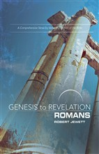 Genesis to Revelation: Romans Participant Book Large Print