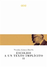 Escolios a un texto implícito. Ediz. italiana. Vol. 2