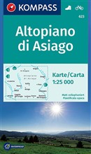 Carta escursionistica n. 623. Altopiano di Asiago 1:25.000. Adatto a GPS. DVD-ROM. Digital map