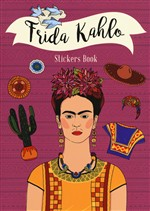 Frida Kahlo stickers book