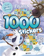Olaf's Frozen adventure. 1000 stickers