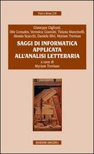 Saggi di informatica applicata all'analisi letteraria