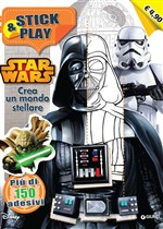 Star Wars. Crea un mondo stellare. Stick and play