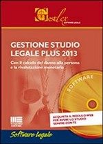 Gestione studio legale plus 2013. CD-ROM