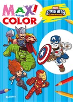 Super hero adventures. Maxi supercolor