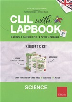 Clil With Lapbook. Science. Terza. Kit alunno