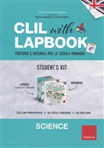 Clil With Lapbook. Science. Quarta. Kit alunno