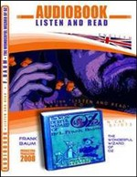 The wonderful wizard of Oz. Audiolibro. CD Audio e CD-ROM