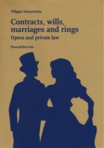 Contracts, wills, marriages and rings. Opera and private law