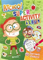 Activity album. Atchoo! Con adesivi