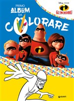 Gli Incredibili. Primo album da colorare