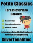 Petite Classics for Easiest Piano Booklet E
