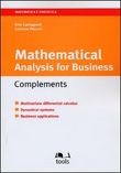 Mathematical analysys for business complements