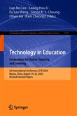 Technology in Education. Innovations for Online Teaching and Learning