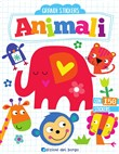 animali. grandi stickers