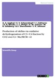 Production of olefins via oxidative de-hydrogenation of C3-C4 fraction by CO2 over Cr-Mo/MCM-41
