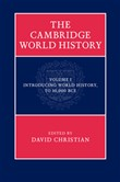 The Cambridge World History: Volume 1, Introducing World History, to 10,000 BCE