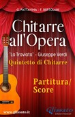 Chitarre all'Opera - partitura