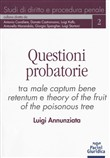Questioni probatorie. Tra male captum bene retentum e theory of the fruit of the poisonous tree