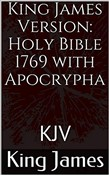 Holy Bible, King James Version(1769) Apocrypha