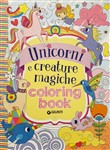 Unicorni e creature magiche. Coloring book