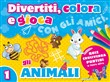 Divertiti, colora e gioca con gli amici. Gli animali. Ediz. illustrata