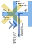 Rivista per le medical humanities (2020). Vol. 46: Medicina e letteratura