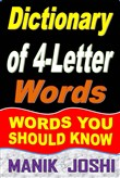 Dictionary of 4-Letter Words: Words You Should Know